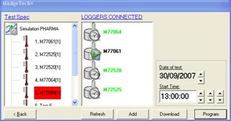 madgetech interface window